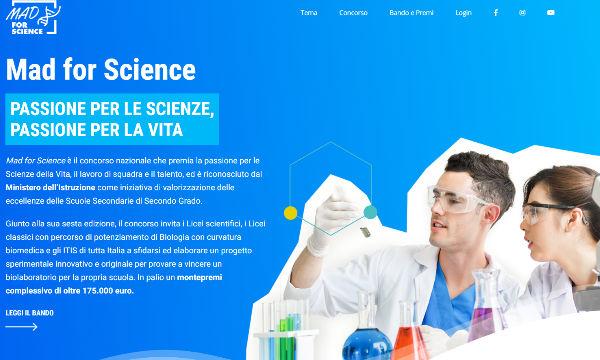 Mad for Science: al via la sesta edizione dedicata al tema della salute