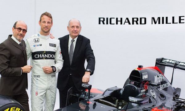 La McLaren 2016 sar� sponsorizzata Richard Mille