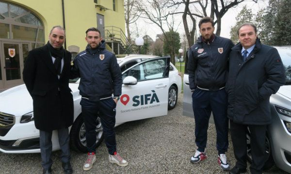 SIF� automotive sponsor di A.C. Reggiana 1919