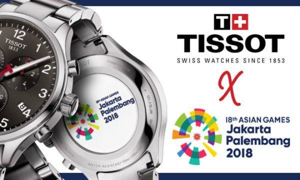 Tissot estender� di 12 anni la partnership con i Giochi Asiatici