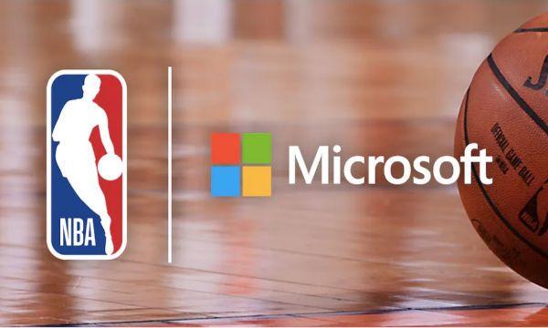 La NBA sigla una grande partnership tecnologica con Microsoft