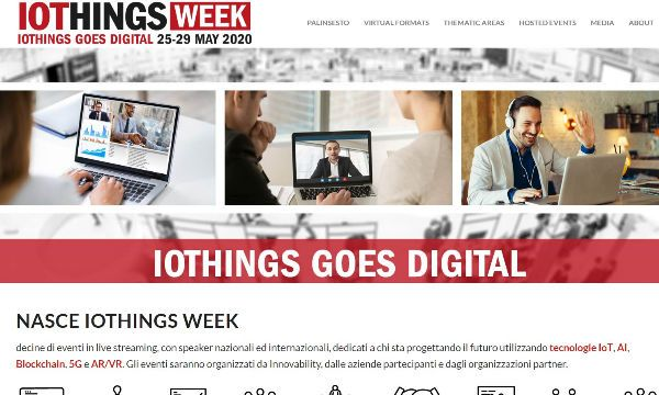 IoThings Goes Digital con una virtual week