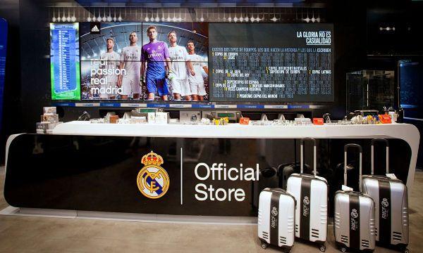 Il Real Madrid sceglie Legends per il commercio retail e merchandising
