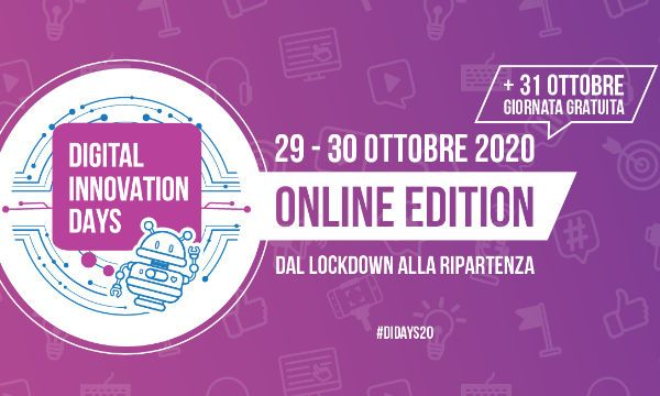 Digital Innovation Days Italy 2020: dal lockdown alla ripartenza