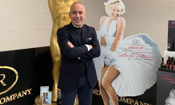 Lorenzo Riva (LR Wonder Company): Marilyn Monroe testimonial del make-up Made in Italy