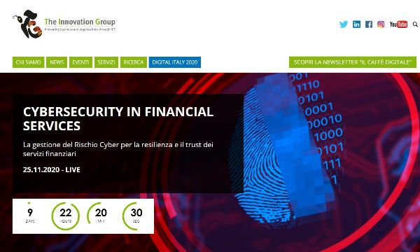 Edizione digitale per il workshop Cybersecurity in financial services