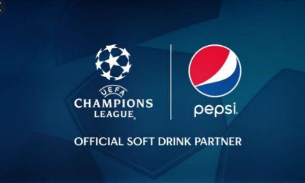 PepsiCo estende l'accordo sulla Champions League