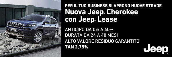 Jeep Lease per il tuo business